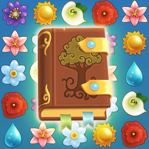 Flower Book: Match-3 Puzzle Game   Apk Pro Mod latest 1.149