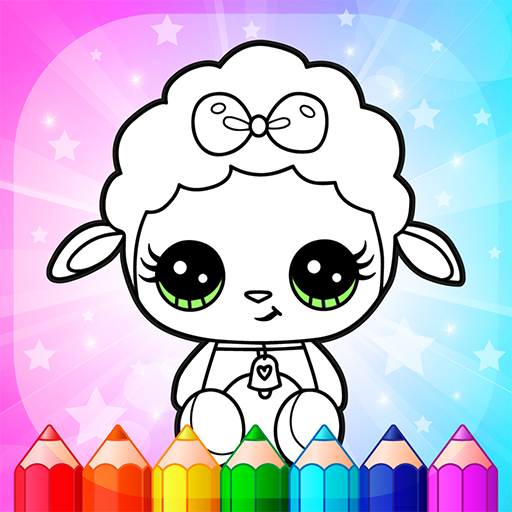 Flower Magic Color-kids coloring book with animals Apk Pro Mod latest 3.9