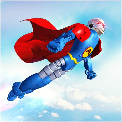 Flying Hero Robot Transform Car: Robot Games Apk Pro Mod latest 2.1.7