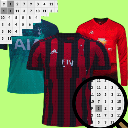 Football Jersey Color By Number-Pixel Art 2021 Apk Pro Mod latest 4.0