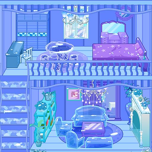 Frozen Dollhouse Design,Ice Dollhouse for girls Apk Pro Mod latest 1.0.9