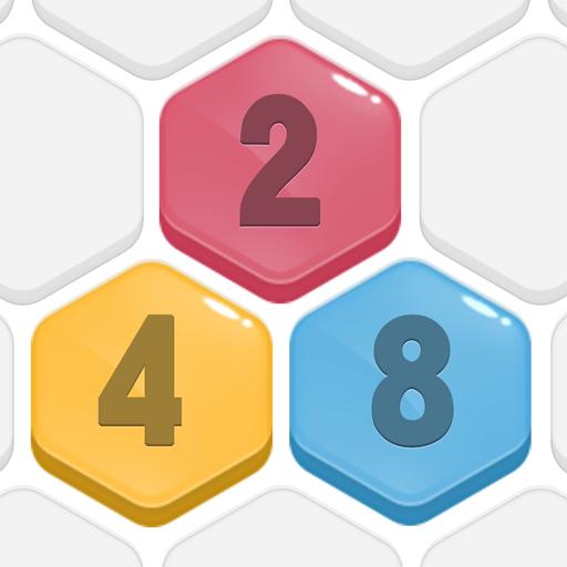 HexPop:Mergenumber to 2048, Free PuzzleGames  Apk Pro Mod latest 2.001