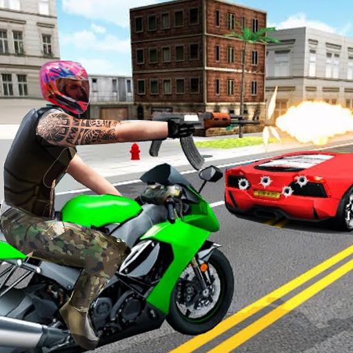 Highway Death Moto- New Bike Attack Race Game 3D Apk Pro Mod latest