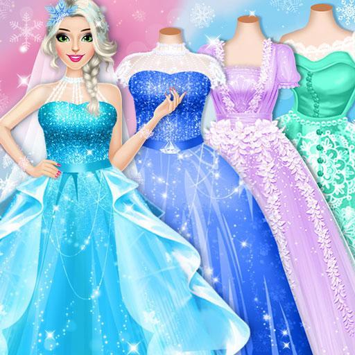 Ice Princess Wedding Dress Up Stylist Apk Pro Mod latest 0.11