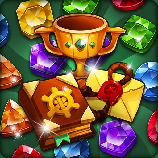 Jewel Voyage: Match-3 puzzle Apk Pro Mod latest 1.8.0