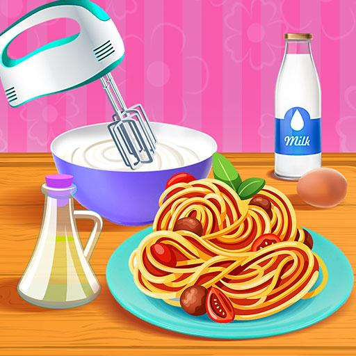 Make Pasta Food Kitchen Fever  Apk Mod latest 0.6