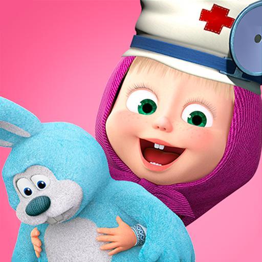 Masha and the Bear: Toy doctor Apk Mod latest 1.2.1
