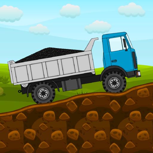 Mini Trucker 2D offroad truck simulator 1.5.8 Apk Mod (unlimited money) Download latest