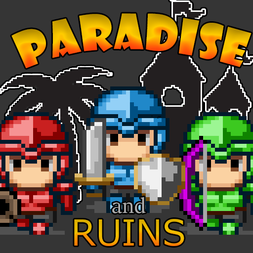 Paradise and Ruins 2D MMORPG MMO RPG Online Apk Pro Mod l atest 1.6.0