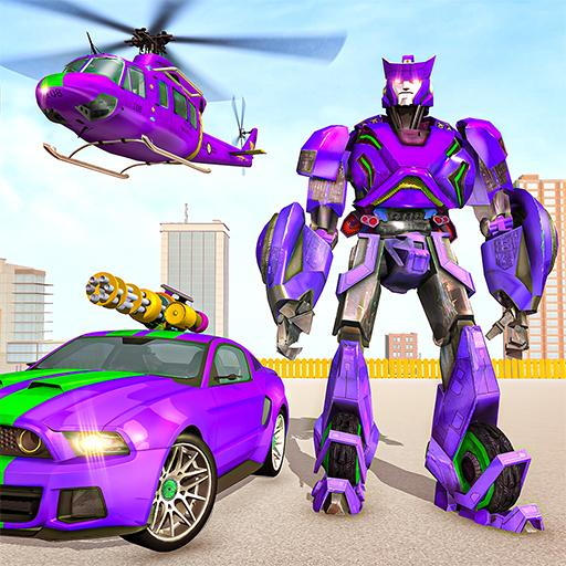Police Robot Car Rampage: New robot shooting Games  Apk Pro Mod latest 1.10