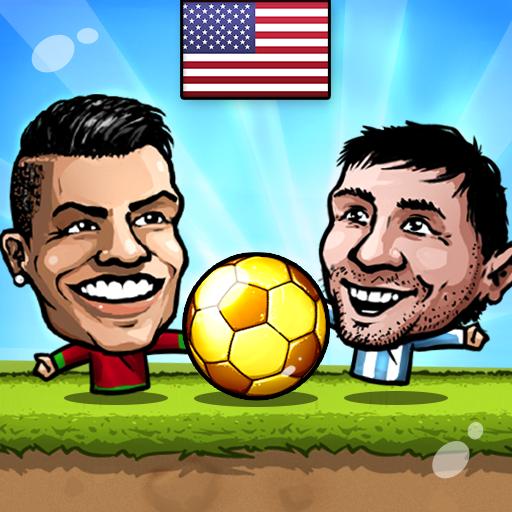 ⚽Puppet Soccer 2014 – Big Head Football 🏆 Apk Mod latest
