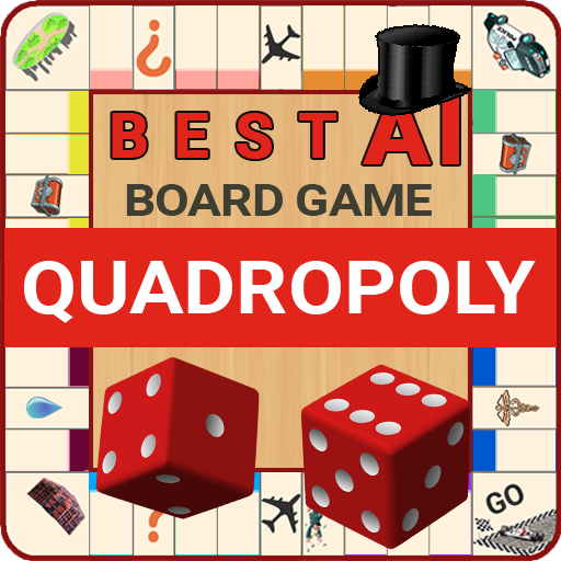 Quadropoly Best AI Board Business Trading Game  1.78.83 Apk Mod (unlimited money) Download latest