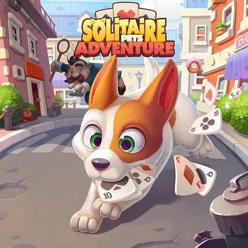 Solitaire Pets Adventure – Free Solitaire Fun Game Apk Mod latest 2.15.57