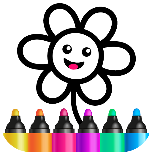 Toddler Drawing Academy🎓 Coloring Games for Kids Apk Mod latest 1.1.10.1
