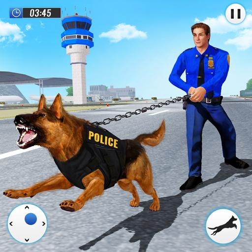 US Police Dog 2019: Airport Crime Shooting Game  Apk Pro Mod latest 2.3