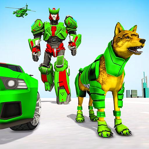 Wolf Robot Transforming Games – Robot Car Games  Apk Mod latest 1.0.23