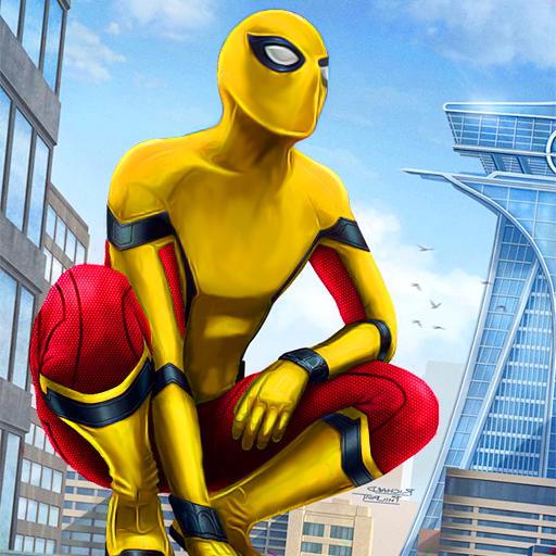 Amazing Spider Hero: Ninja Stickman Rope Hero 3D Apk Mod latest 1.0