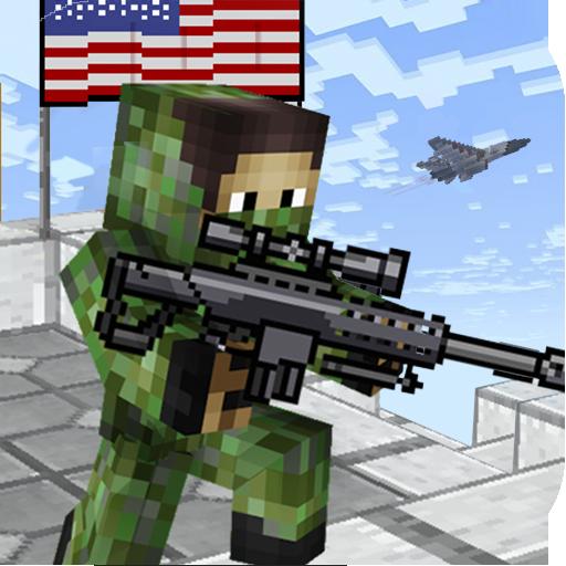 American Block Sniper Survival  Apk Pro Mod latest 1.90