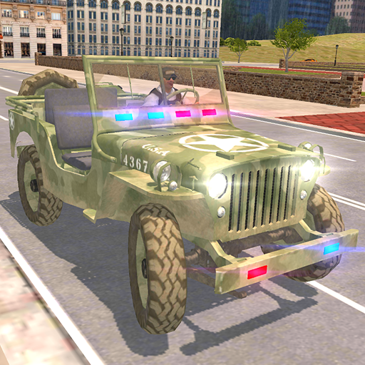 American Police Jeep Driving: Police Games 2020  Apk Mod latest