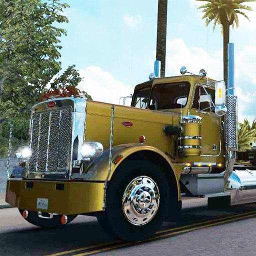 American Truck Real Driving Cargo Simulator 2021  2 Apk Mod (unlimited money) Download latest