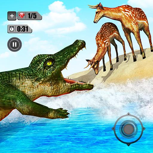 Angry Crocodile Simulator – Real Animal Attack  Apk Mod latest