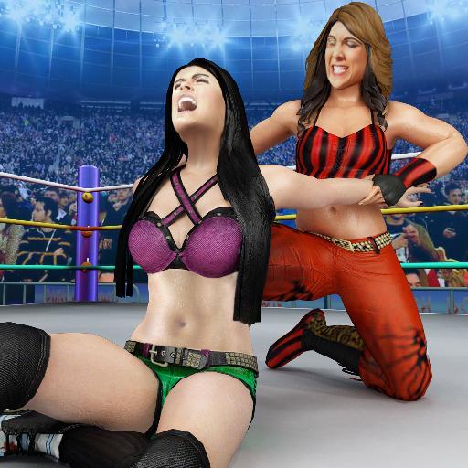 Bad Girls Wrestling Game: GYM Women Fighting Games  1.3.8 Apk Mod (unlimited money) Download latest