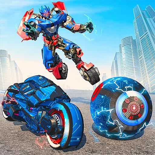 Ball Robot Transform Bike War : Robot Games  Apk Pro Mod latest