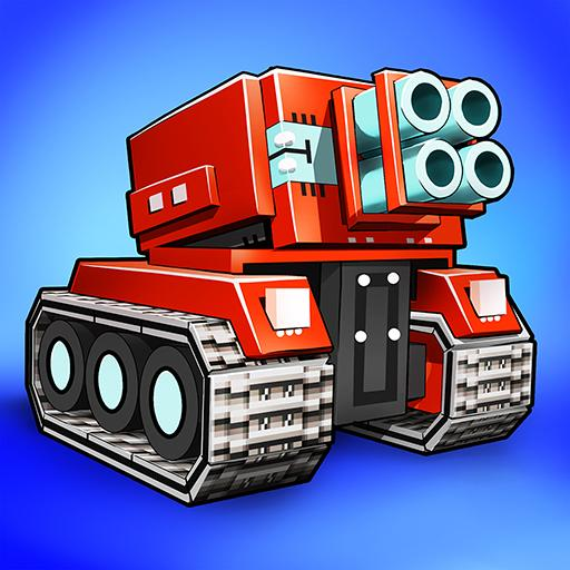 Blocky Cars – pixel shooter, tank wars   Apk Pro Mod latest 7.6.10