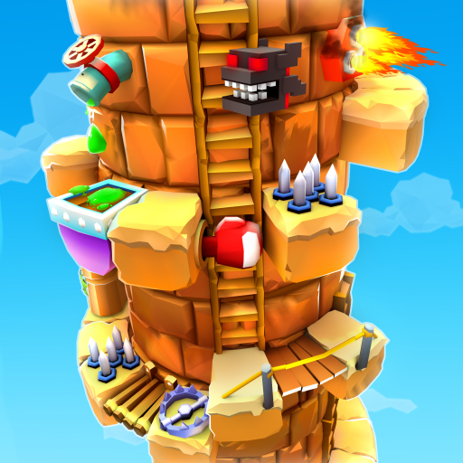 Blocky Castle Climb: Pet Jump! Cat🐱dog🐶and more! Apk Pro Mod latest 1.15.0