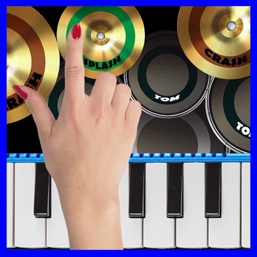 Blue Drum – Piano  Apk Mod latest