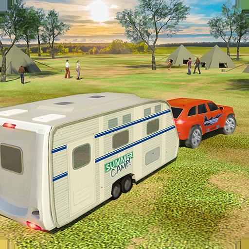 Camper Van Truck Simulator: Cruiser Car Trailer 3D   Apk Pro Mod latest 1.13