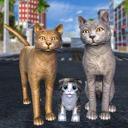 Cat Family Simulator: Stray Cute Kitty Game   Apk Pro Mod latest 10.1