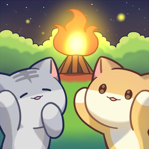 Cat Forest Healing Camp Apk Pro Mod latest 2.22