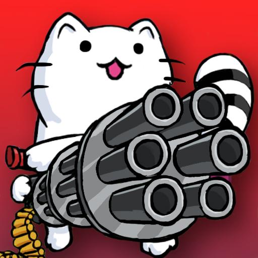 Cat Shooting War: Offline Gunner TD Battles  1.62 Apk Mod (unlimited money) Download latest