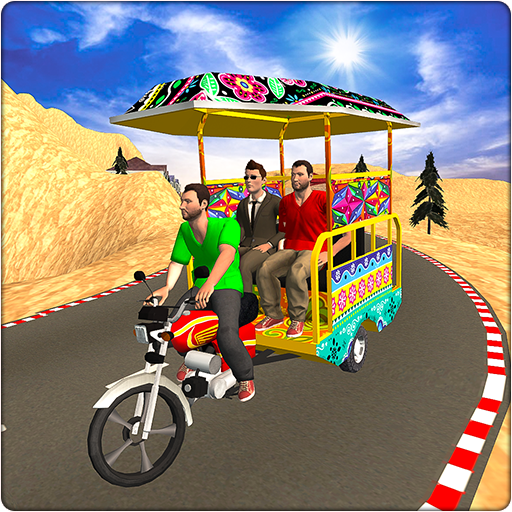 Chingchi Rickshaw Game:Tuk Tuk Parking Simulator  Apk Mod latest 1.0.6