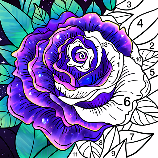 Coloring Book Color by Number & Paint by Number 1.7.8 Apk Mod (unlimited money) Download latest