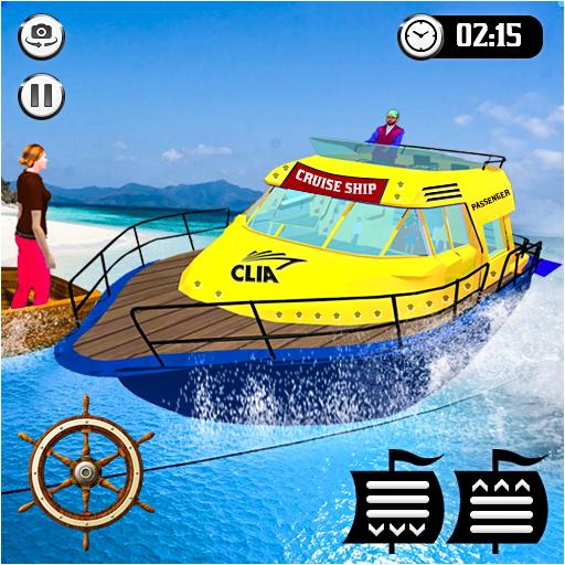 Cruise Captain: Water Boat Taxi Simulator  Apk Mod latest