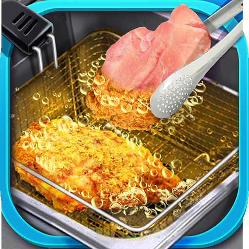 Deep Fried Crispy Chicken Parmesan – Street Food Apk Pro Mod latest