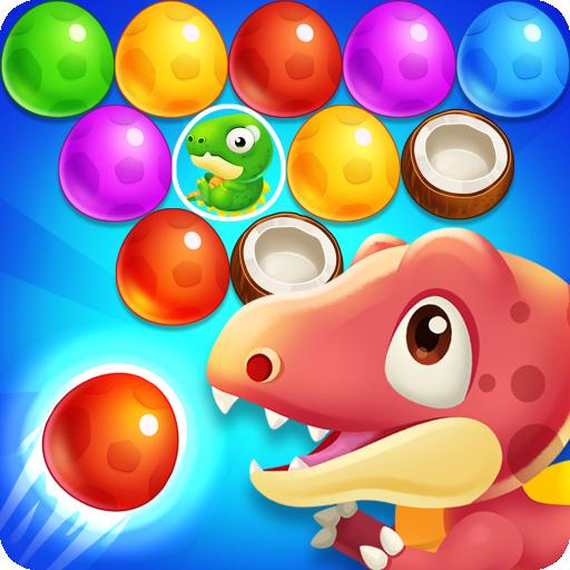 Dinosaur Egg – pop bubble shoot Apk Mod latest 1.0.4