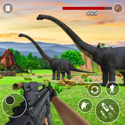 permainan pemburu hewan dinosaurus 4.2 Apk Mod (unlimited money) Download latest