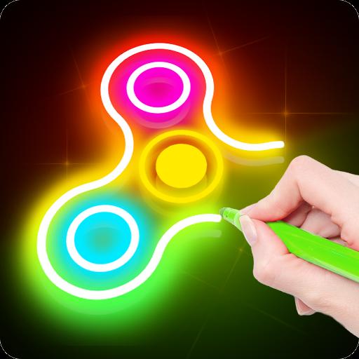 Draw Finger Spinner Apk Pro Mod latest 1.0.10