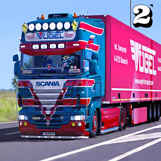 Euro Truck Transport Simulator 2: Cargo Truck Game   Apk Pro Mod latest 1.8