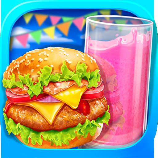 Fast Food – Hamburger & Icy Juice Fun Apk Mod latest