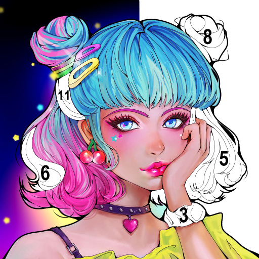 Sweet Coloring Color by Number Painting Game   Apk Pro Mod latest 1.0.19