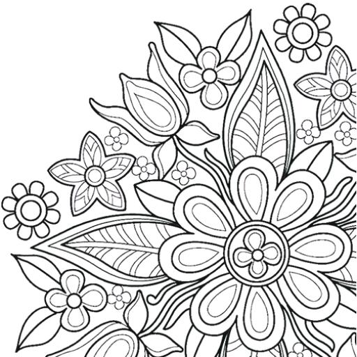 Flowers Mandala coloring book   Apk Pro Mod latest 7.7.0