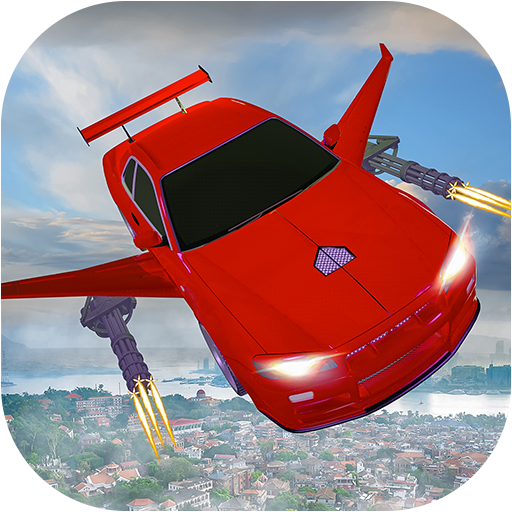 Flying car Shooting: Ultimate car Flying simulator  Apk Pro Mod latest