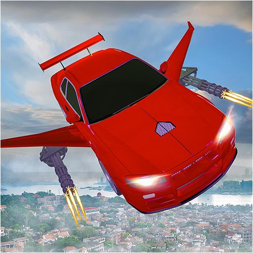 Flying car Shooting: Ultimate car Flying simulator Apk Pro Mod latest