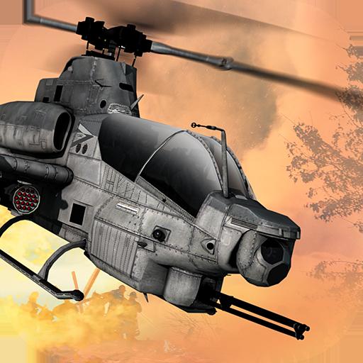 GUNSHIP COMBAT – Helicopter 3D Air Battle Warfare  Apk Pro Mod latest