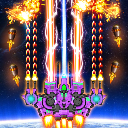 Galaxy Shooter Battle 2021: Galaxy attack 1.2.4 Apk Mod (unlimited money) Download latest