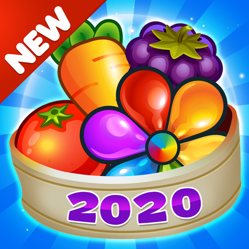Garden Blast New 2020! Match 3 in a Row Games Free Apk Pro Mod latest 2.1.4
